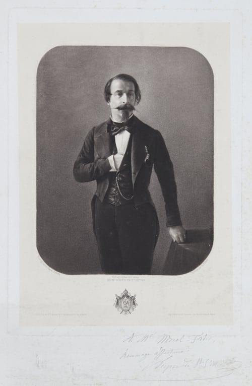 Napoleon III Mayer Frères 1805-1870  (b.French)