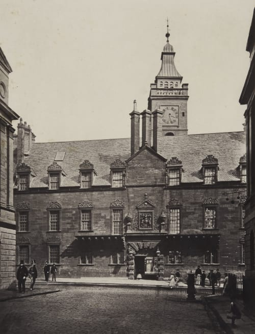 The College, from College Street Annan, Thomas  (Scottish, 1829-1887)