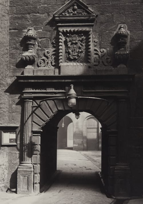 Archway in Outer Court, Looking Towards the Inner Court Annan, Thomas  (Scottish, 1829-1887)
