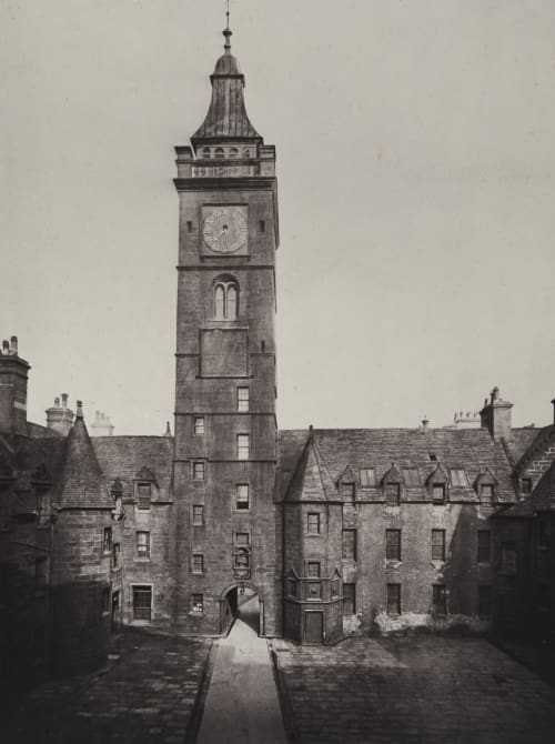The Inner Court-Natural Philosophy Class-Rooms, &c Annan, Thomas  (Scottish, 1829-1887)