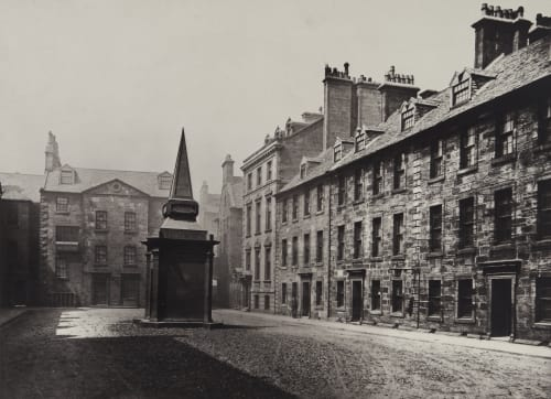 The Professors' Court, Looking West Annan, Thomas  (Scottish, 1829-1887)