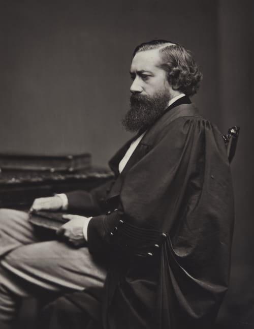 John Nichol, B.A., Oxon., Professor of English Language and Literature Annan, Thomas  (Scottish, 1829-1887)