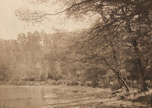 L'Etang de Gouillé (alt) Pector, S.  (French, 1836-1910)
