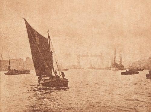 Marée montante (alt) Lintott, Bernard  (English, b.active 1890s)