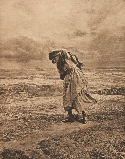 Temps orageux (alt) Robinson, Henry Peach  (English, 1830-1921)
