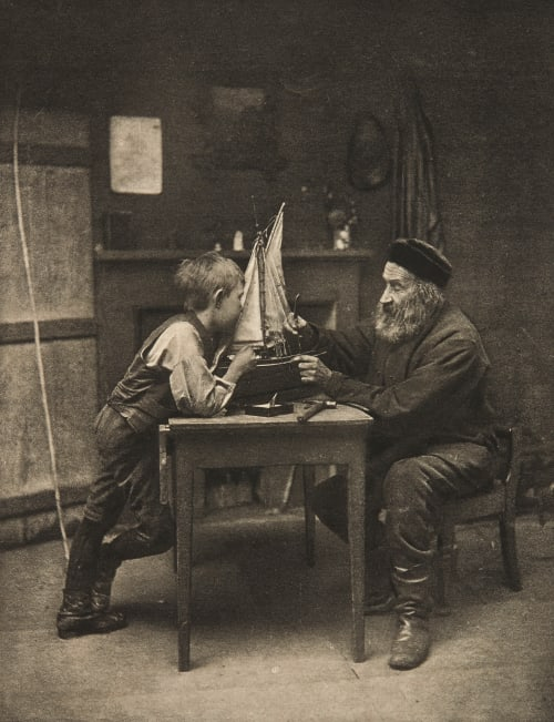 Réve d'Enfant Anckorn, William .J.  (Scottish, b.active 1890s)