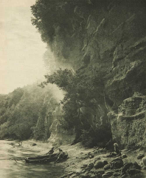 Les Troglodytes (alt) Boissonnas, Fred  (Swiss, 1858–1946)