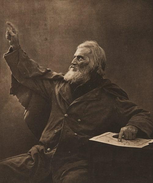 Le Récit d'un Ancien (alt) Moore, Clarence B,   (American, 1852-1936)