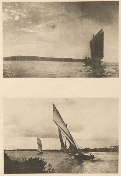 Diptych: Marine & Régales enn Loire Fraisse, Joseph  (French, b.active 1890s)Srna, Carl  (French, b.active 1890s)