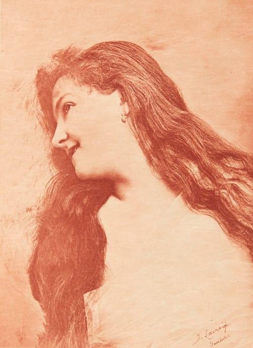 Sanguine (alt) Lacroix, J.  (Swiss, b.active 1890s)