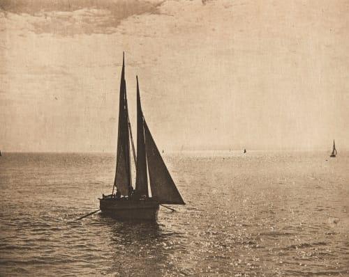 Coucher de Soleil (alt) Balagny, Georges  (French, 1837-1919)