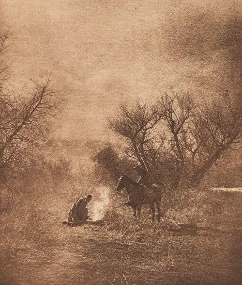 Un Bivouac (alt) Cohen, Lewis  (British, b.active 1890s)