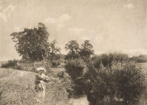 En Été Henneberg, Hugo  (Austrian, 1863-1910)