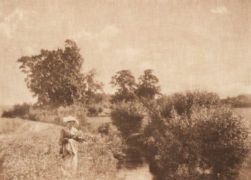 En Été (alt) Henneberg, Hugo  (Austrian, 1863-1910)