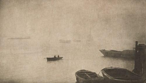 Brouillard sur la Tamise Robinson, Ralph W.  (English, 1862-1942)