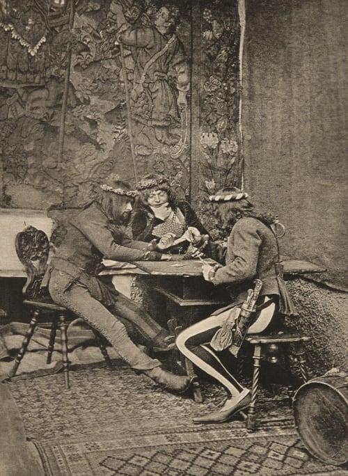 Les Joueurs de Cartes Stieglitz, Alfred  (American, 1864-1946)
