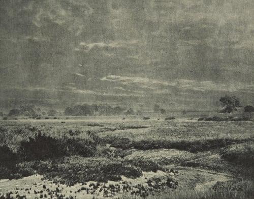 Prés salés Hinton, Alfred Horsley  (English, 1863-1908)