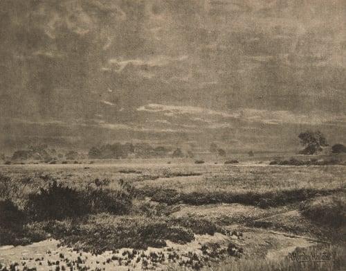 Prés salés (alt) Hinton, Alfred Horsley  (English, 1863-1908)
