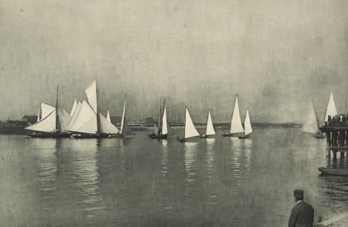 Départ matinal de Régates Robard, Georges  (French, b.active 1890s)