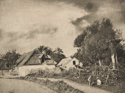 Rue de Village (alt) Strakosch, Julius   (Austrian, b.active 1890s)