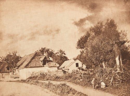 Rue de Village Strakosch, Julius   (Austrian, b.active 1890s)