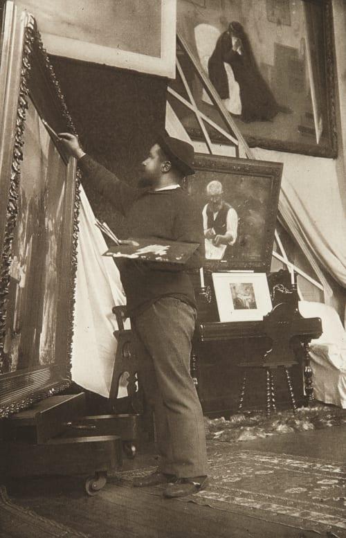 Portrait de M. J.-J. Rousseau Chuna, Arthur G. da  (French, b.active 1890s)