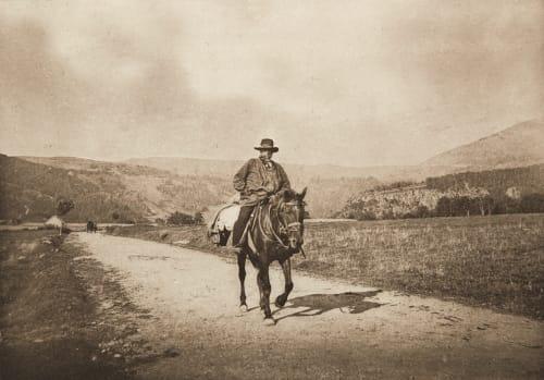 Retour du Moulin (Mont-Dore) Magnitot, M.G. de  (French, b.active 1890s)