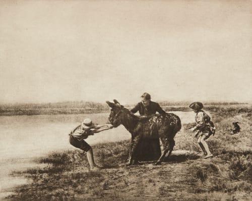 Obstination Mantélier, J.  (French, b.active 1890s)