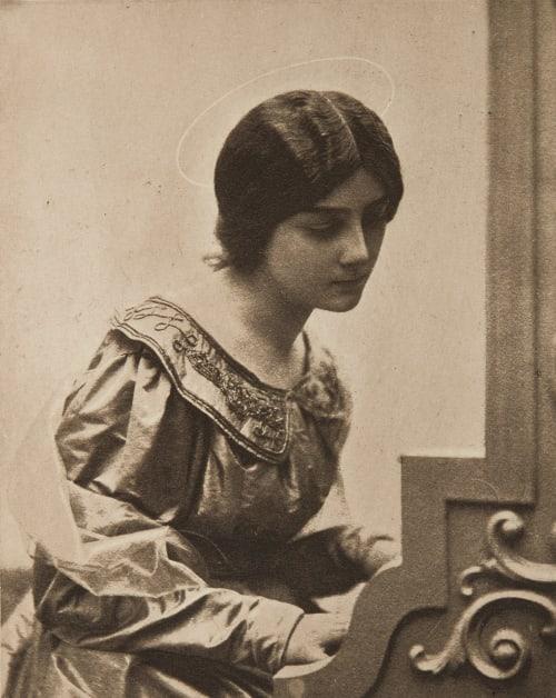 Sainte Cécile De Meyer, Baron Adolf  (American, 1868-1946)