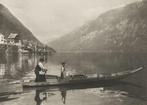 Lac de Hallstatt Rothschild, Albert Baron von   (Austrian, 1844-1911)