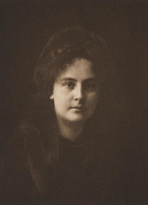 Étude de jeune fille Schoeller, Philipp Ritter von  (Austrian, 1845-1960)