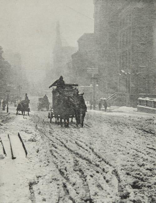 L'Hiver, cinquième avenue Stieglitz, Alfred  (American, 1864-1946)
