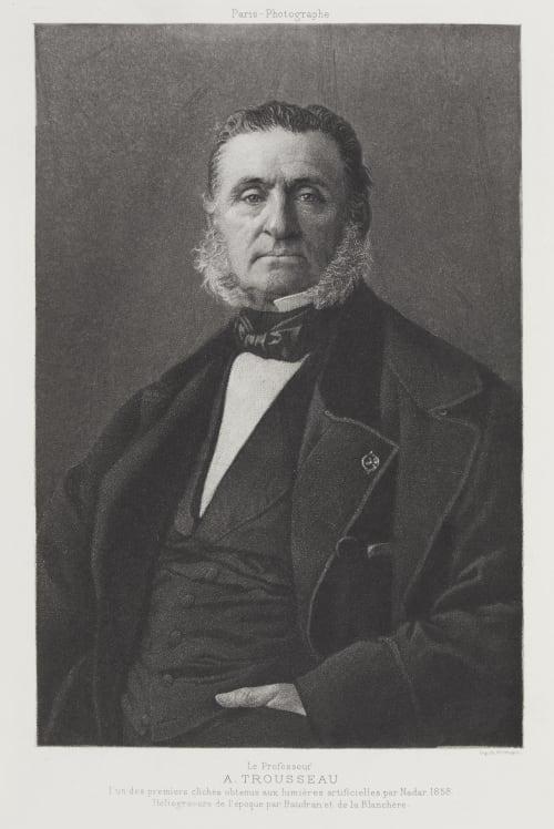 Le Professeur A. Trousseau Nadar  (French, 1820-1910)