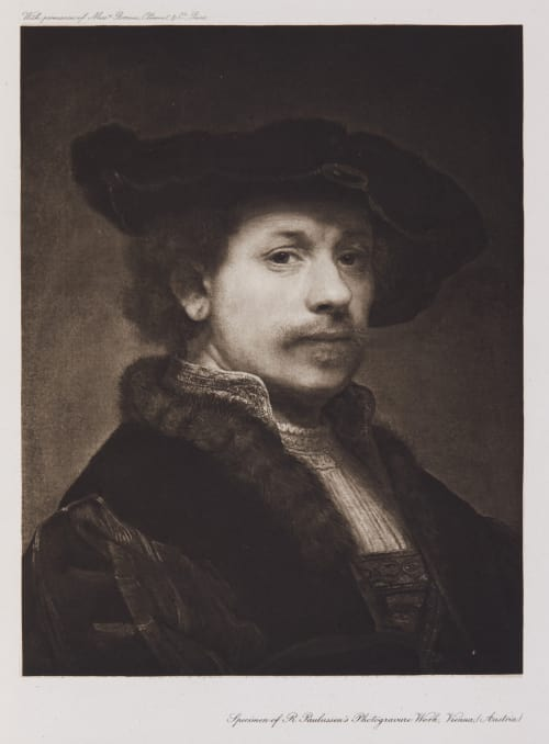 Self portrait Rembrandt  (Dutch, 1606-1669)