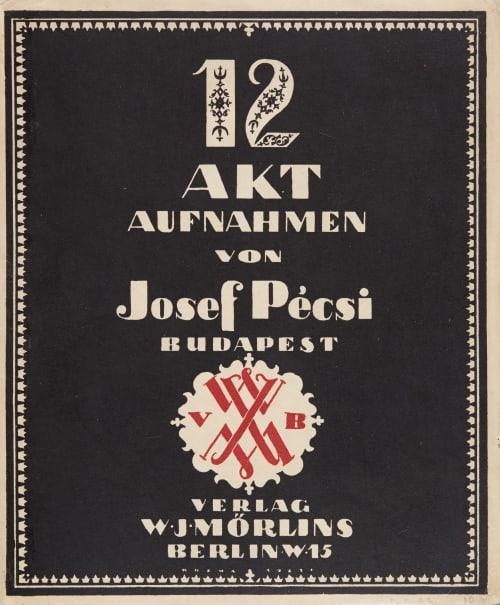12 Akt Aufnahmen Pecsi, Jozef  (Hungarian, 1889-1956)