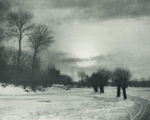 Fin du Jour Strakosch, Julius   (Austrian, 1852-1901)