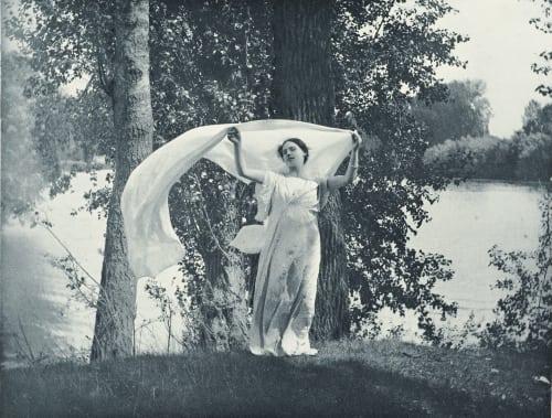 Étude de plein Air Bergon, Paul  (French, 1863-1912)
