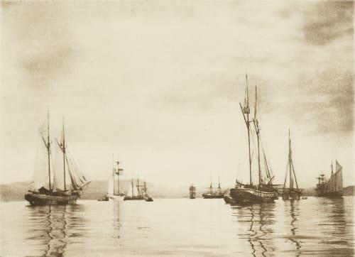 Dans le Golfe de Smyrne Rothschild, Nathaniel Mayer von  (Vienna, 1836-1905)