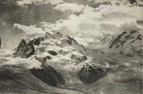Un Orage au Mont-Rose Mathieu, E.