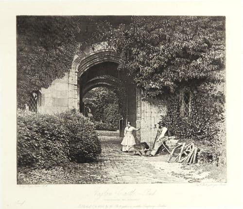 Raglan Castle, The Porch Fenton, Roger  (British, 1819-1869)