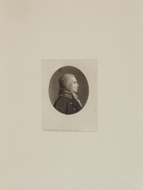 Physionotrace Quenedey, Edme  (French, 1756-1830)