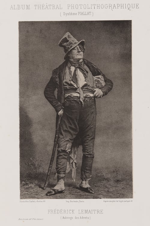 Frederick Lemaitre Carjat, Etienne  (French, 1828-1906)