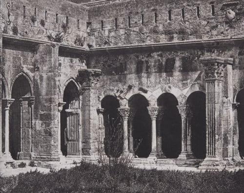 Arles. Intérieur du Cloître St. Trophime Bisson, Louis-Auguste  (French, 1814-1876)Bisson, Auguste-Rosalie  (French, 1826-1900)