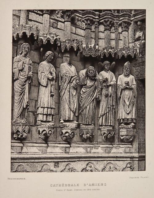 Cathédrale D'Amiens Bisson, Louis-Auguste  (French, 1814-1876)