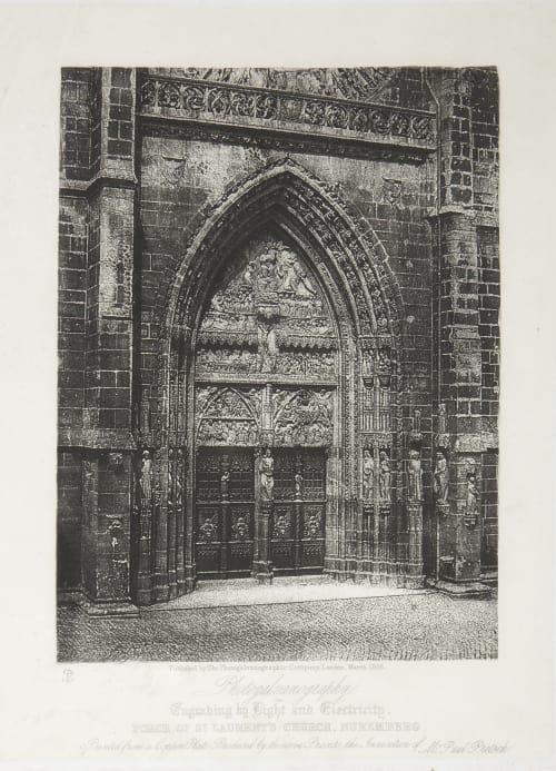 Porch of St. Laurent's Church, Nuremberg Fenton, Roger  (British, 1819-1869)