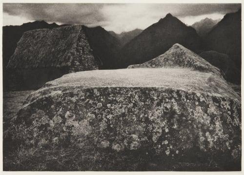 Funerary Rock Edward Ranney  (American, b.b.1962)