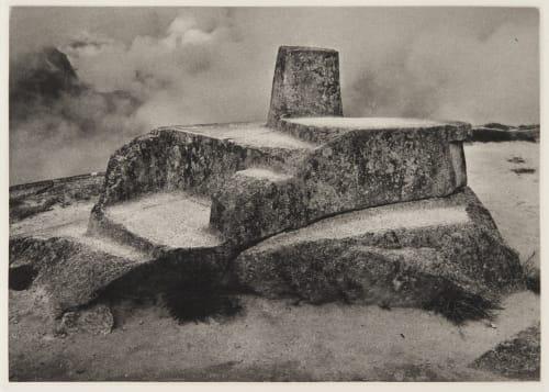 Intihuatana stone Edward Ranney  (American, b.b.1962)
