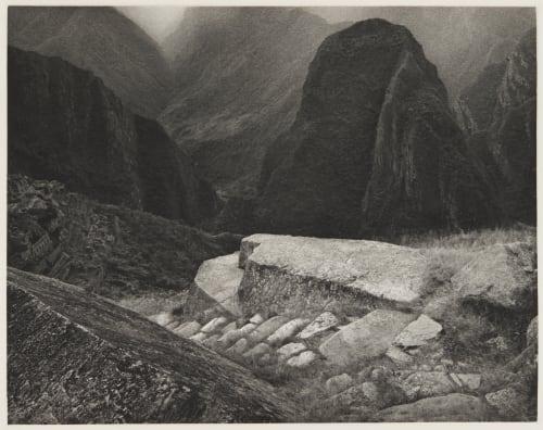 Lower Macchu Picchu and the Urubamba valley Edward Ranney  (American, b.b.1962)