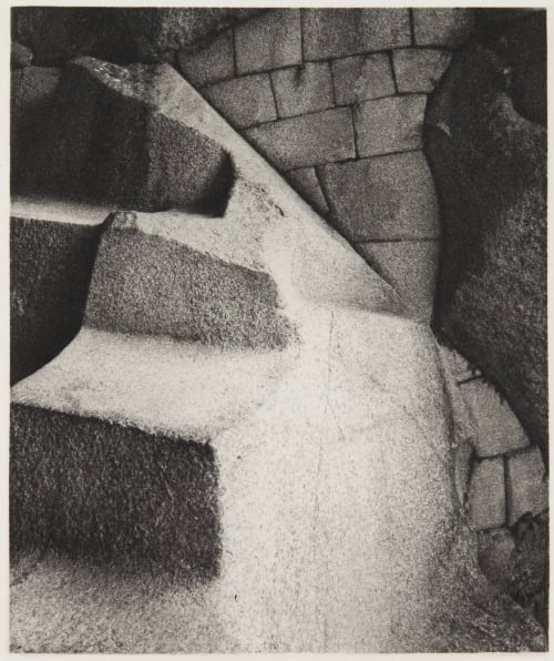 Ceremonial cave, Torreón Complex, detail Edward Ranney  (American, b.b.1962)