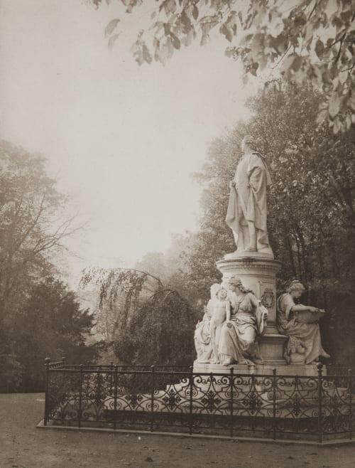Goethe – Denkmal Rau, Otto  (German, 1856-1934)